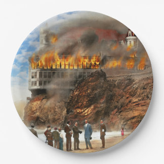 Prato De Papel Fogo - fogo 1907 de Cliffside
