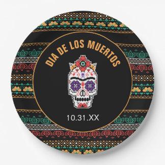 Prato De Papel Frida Kahlo | Diâmetro De Los Muertos