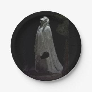 Prato De Papel Ghoul gótico