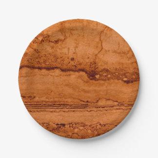 Prato De Papel Granito de cobre
