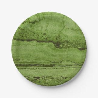 Prato De Papel Granito verde