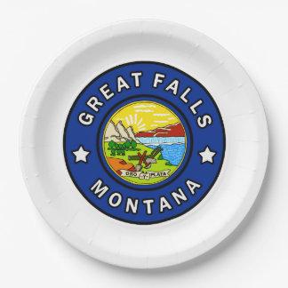 Prato De Papel Great Falls Montana