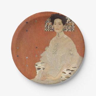 Prato De Papel GUSTAVO KLIMT - Retrato de Fritza Riedler 1906