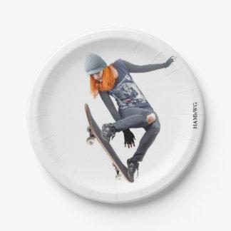 Prato De Papel HAMbyWG - placa de papel - skater