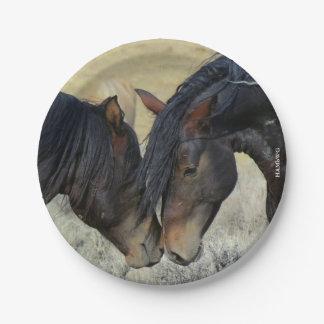 "Prato De Papel HAMbyWG - placas de papel 7"" - cavalo"