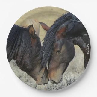 "Prato De Papel HAMbyWG - placas de papel 9"" - cavalo"