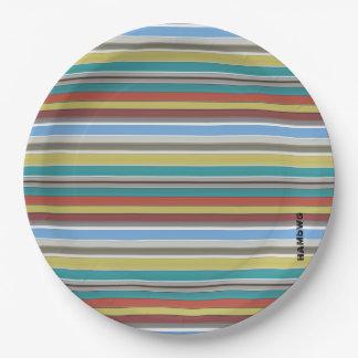 Prato De Papel HAMbyWG - placas de papel - listra do surf