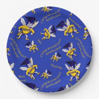 Prato De Papel Herbie as placas de papel do boné do zangão
