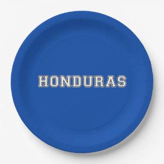 Prato De Papel Honduras