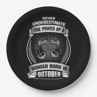 Prato De Papel Horóscopo outubro