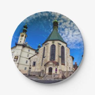 Prato De Papel Igreja de St. Catherine, Banska Stiavnica,