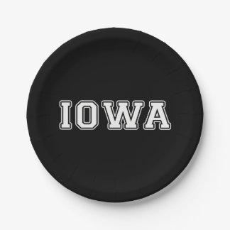 Prato De Papel Iowa