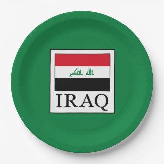 Prato De Papel Iraque