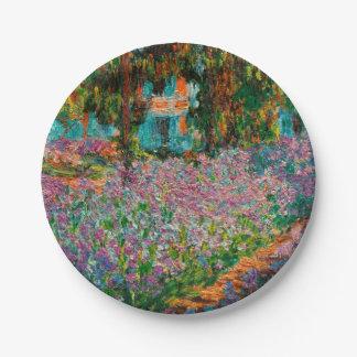 Prato De Papel Íris em Giverny Claude Monet