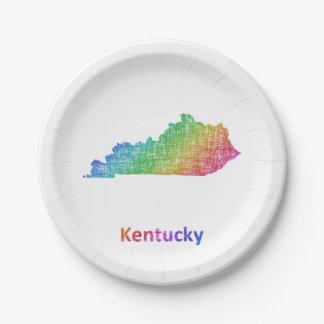 Prato De Papel Kentucky
