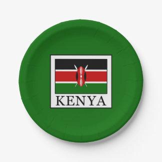 Prato De Papel Kenya