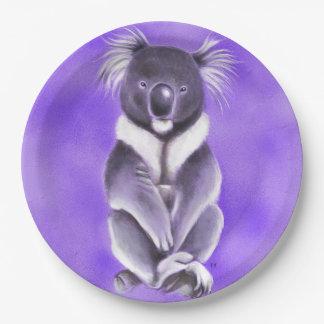 Prato De Papel Koala de Buddha