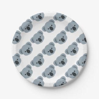 Prato De Papel Koala emoji