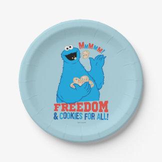 Prato De Papel Liberdade & biscoitos para tudo!