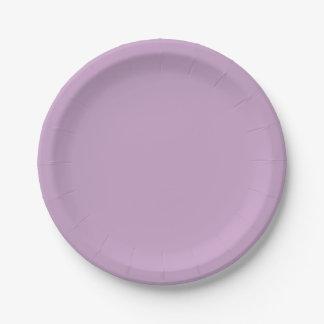 Prato De Papel Lilac