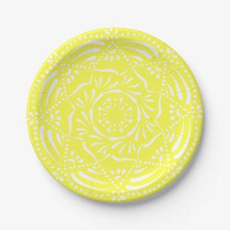 Prato De Papel limão