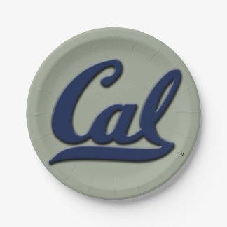 Prato De Papel Logotipo do Cal