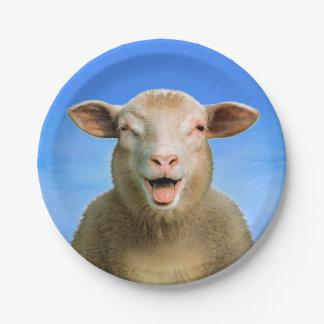 Prato De Papel Lucie os carneiros