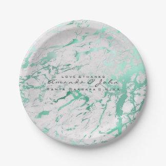Prato De Papel Luxo aquático das hortaliças da cerceta branca de
