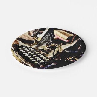 Prato De Papel Máquina de escrever antiga Oliver #9