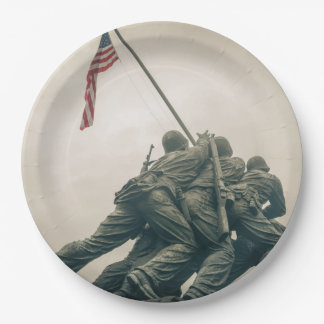 Prato De Papel Memorial de Iwo Jima no Washington DC