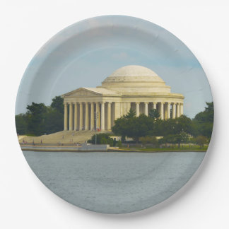 Prato De Papel Memorial de Jefferson no Washington DC