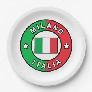 Prato De Papel Milão Italia