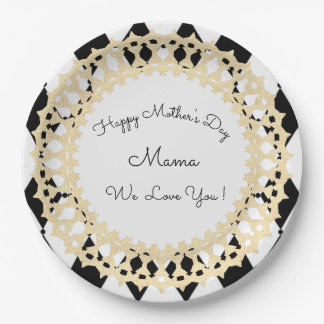 Prato De Papel Mother's-Day_Celebrations_Harlequin-Royal-Template