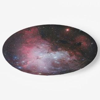 Prato De Papel Nebulosa de Eagle