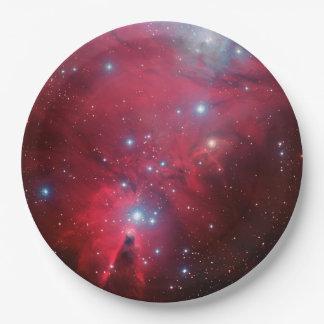 Prato De Papel Nebulosa do cone