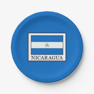 Prato De Papel Nicarágua