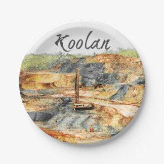 Prato De Papel No poço - Koolan