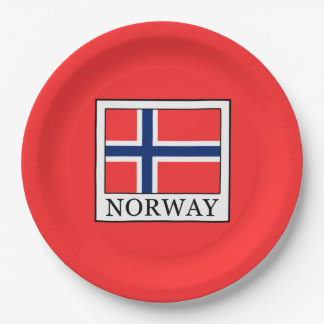 Prato De Papel Noruega