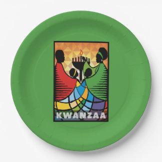 Prato De Papel Nós somos placas de papel de um partido de Kwanzaa