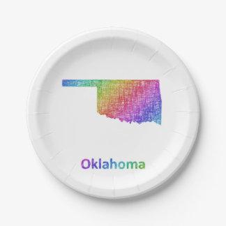 Prato De Papel Oklahoma