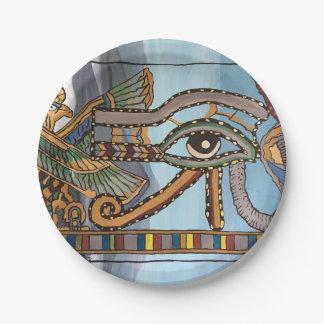 Prato De Papel Olho das placas de papel de Horus