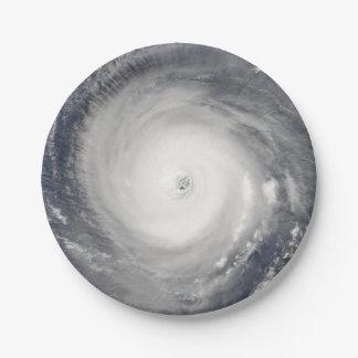 Prato De Papel Olho do furacão