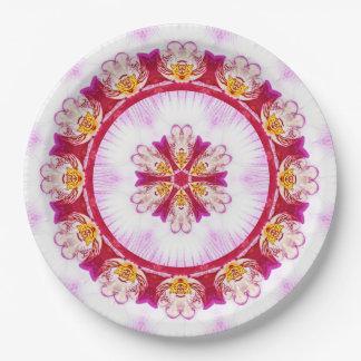 Prato De Papel Orquídea do roxo da fotografia da natureza da