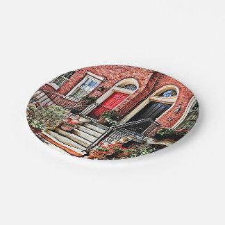 Prato De Papel PA de Philadelphfia - Townhouse com gerânio