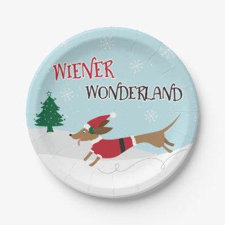 Prato De Papel País das maravilhas do Wiener