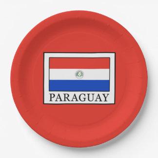 Prato De Papel Paraguai