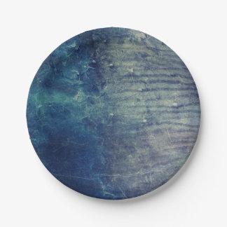 Prato De Papel Parede azul