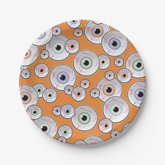 Prato De Papel Partido Googly da epopeia do olho