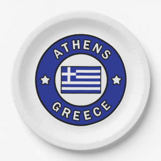 Prato De Papel Piscina de Atenas