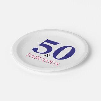 Prato De Papel Placa de papel da festa de aniversário para tudo